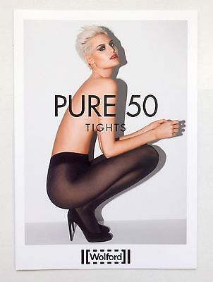 Wolford Katalog Pure 50 Tights Lookbook Nylons Strumpfhose Sexy Style Book