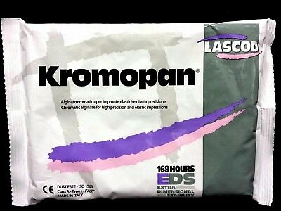 KROMOPAN 1LB. POUCH COLOR CHANGING ALGINATE DUST FREE 168 Hours Stability 450G