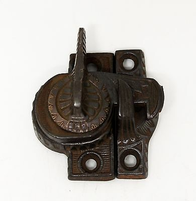 Cast Iron Window Victorian Lock