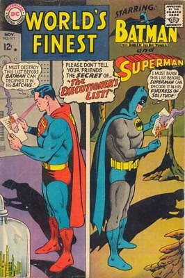 WORLD'S FINEST COMICS #171 VG/F, Superman, Batman, DC Comics 1967