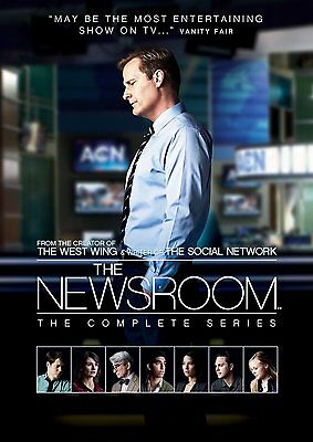 The Newsroom – The Complete Series (Seasons 1-3) DVD HBO Drama