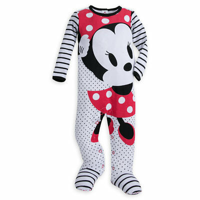 863c17a4c4 DISNEY BABY GIRLS  Minnie Mouse One Piece Blanket Sleeper -  17.99 ...