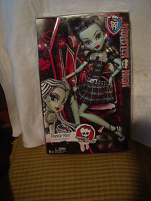 Monster High Frightfully Tall Ghouls Frankie Stein 17 inch doll by Mattel