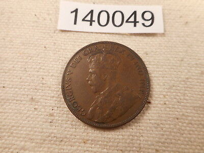 1936 Newfoundland Large One Cent Nice Collector Collector Album Coin - # 140049