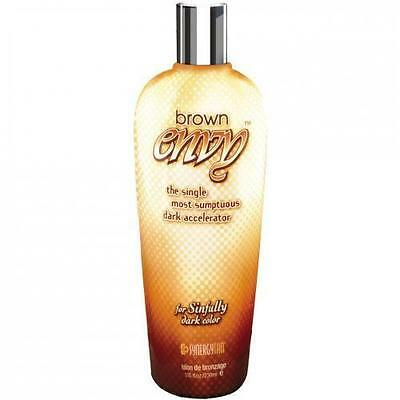 Synergy Tan Brown Envy Dark Tanning Uva Sunbed Accelerator Lotion + Free Goggles
