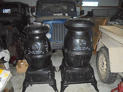 """Ww2 Us Army """"cannon"""" Pot Belly Stoves  #18 #20 2 To Pick From"""