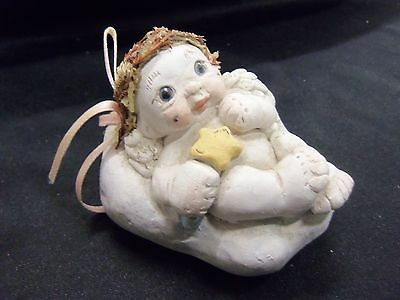 Dreamsicles Signed Collectible Cast Art Figure by Kristin 1994 Mother's Day Baby