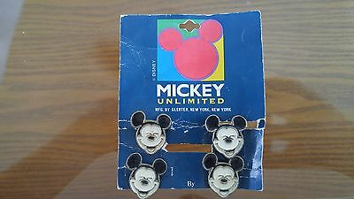 Mickey Unlimited Disney MICKEY Mouse button covers