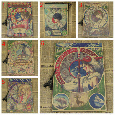 Miyazaki Hayao Animation Animation Poster Thousands of Thousands of Dragon Quest