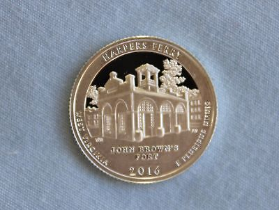 2016-S Harpers Ferry Silver Proof ATB Ultra Deep Cameo
