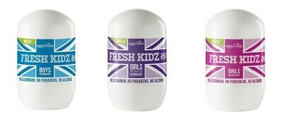 Keep It Kind FRESH KIDZ Natural Deodorant Boys Girls Choose One BUY 2 GET 1 FREE