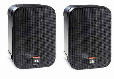 JBL Control 1 Pro - Black Two-way Compact Installation Monitor - Pair - New