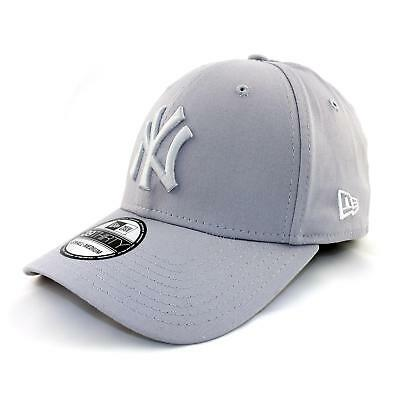 New Era 39 Thirty League New York Yankees Fitted Cap Mütze grau weiss 92242 1acef70f6f