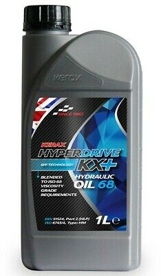 Brand  New  Kerax  Hyperdrive   KX+   Hydraulic Oil  68 - 1 L