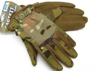 MECHANIX WEAR Size Medium M Multicam FASTFIT Tactical Work Gloves! MFF-78-009