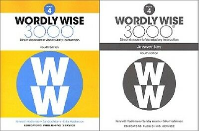 Wordly wise 3000 4th edition grade 5 set student book and answer wordly wise 3000 grade 4 set student and key new 4th edition fandeluxe Images