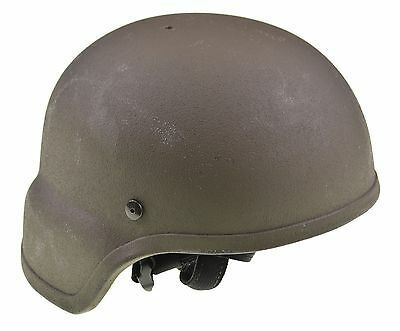 United Shield MCH Olive Drab Tactical Ballistic Military Helmet IIIA 6/12 Sz. S
