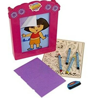 Dora the Explorer Fashion Tracing Plates Fun Craft Kit
