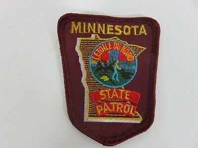 Minnesota State Patrol  Polce  Patch New