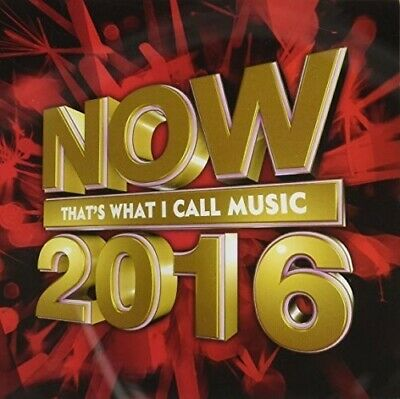 Various Artists - Now 2016 That's What I Call Music / Various [New CD] Portugal