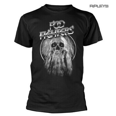 Official T Shirt FOO FIGHTERS Concrete and Gold ELDER Skull All Sizes