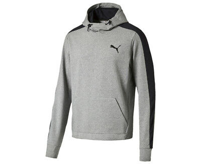 Puma Men's Stretch Lite Hoodie TR - Medium Grey Heather