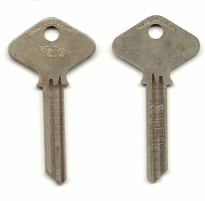 One Yale 117F-VE Seven Pin Control Key Blank Nickel Silver - Free Shipping