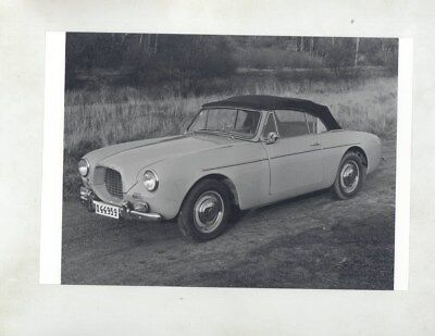 1956 1957 Volvo P1900 ORIGINAL Factory Photograph wy7153