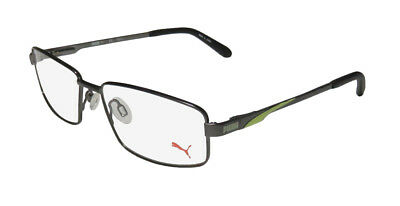 New Puma 15408 Masculine Design Signature Logo Eyeglass Frame/glasses/eyewear