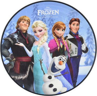 Frozen SONGS FROM MOVIE Disney MUSIC New Vinyl Picture Disc LP