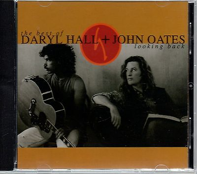 DARYL HALL & JOHN OATES - Looking Back - CD Album *Best Of**Hits**Singles*