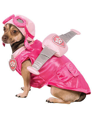 Paw Patrol Skye Pink Flying Pup Pet Dog Halloween Costume