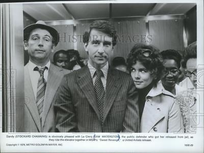 1980 Press Photo Stockard Channing and Sam Waterston in MGM's Sweet Revenge