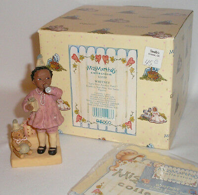 Miss Martha's All God's Children - Whitney - Let's Have A Party 4Th Figurine