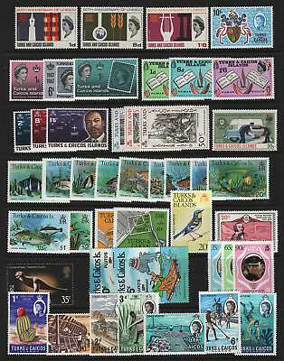 OPC Turks & Caicos Islands Lot of 45 Sets & Singles All MNH