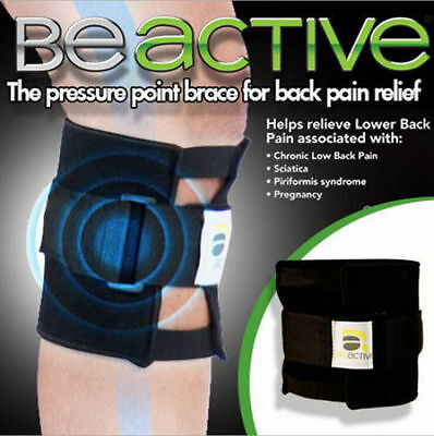 BeActive As Seen On TV Be Active Acupressure point Sciatic Nerve Leg Brace-back