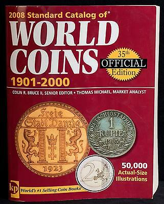 2008 Standard Catalog of World Coins 1901-2000 Krause Publications 35th Edition
