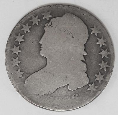 1836-P Capped Bust Silver Half Dollar
