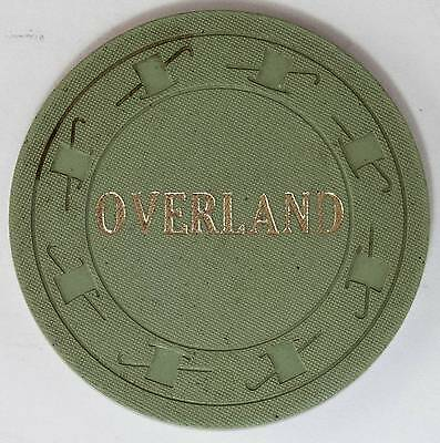 1965 Overland Hotel .50 1st Edition Casino Chip Pioche NV