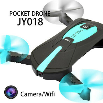 JY018 Wifi FPV Quadcopter Mini Dron Foldable Selfie Drone RC Drones with Camera