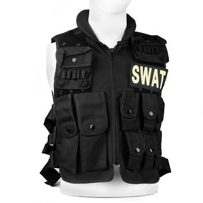 SWAT Military Tactical Vest Army Paintball Combat Molle Airsoft Assault Hunting