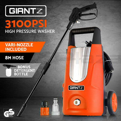 Giantz 3100PSI High Pressure Washer Electric Water Cleaner Gurney Pump 8M Hose