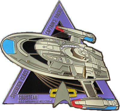 Mag #75 by Eaglemoss Star Trek Cousteau Captain/'s Yacht - Enterprise E
