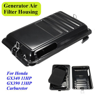 Generator Air Housing Filter Assembly For Honda GX340 11HP GX390 13HP Carburetor