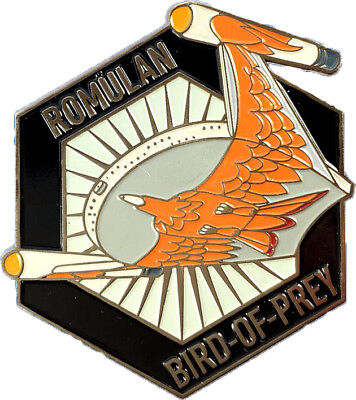 Romulan Bird of Prey - exklusiver Sammler Collectors Pin Metall - Star Trek neu