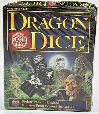 Dragon Dice game Monster from beyond the grave Kicker Pack 3 Undead 07-C-DD