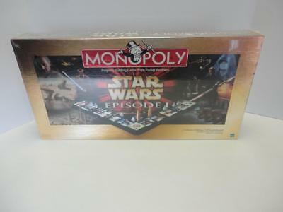 Star Wars Monopoly Episode I 1 Board Game FACTORY SEALED NEW!