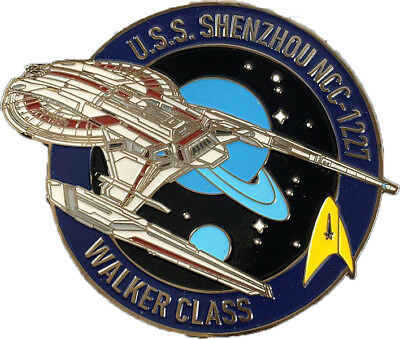 Discovery U.S.S. Shenzhou pin Star Trek - exklusive Sammler Collectors Edtion