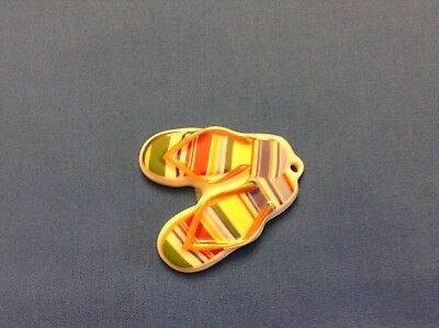 "Longaberger ""flip Flop's"""" Tie On!  Great Looking!  No Box Or Ribbon!"