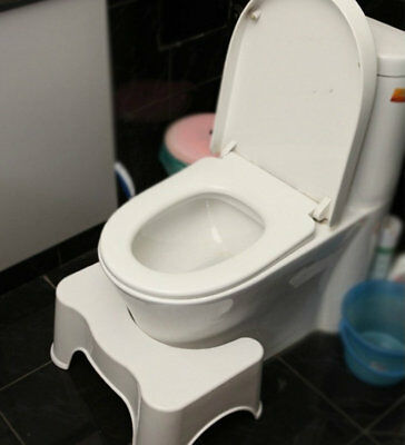 Non-Slip Toilet Squatty Potty Step Stool Bathroom Aid Constipation Piles Relief